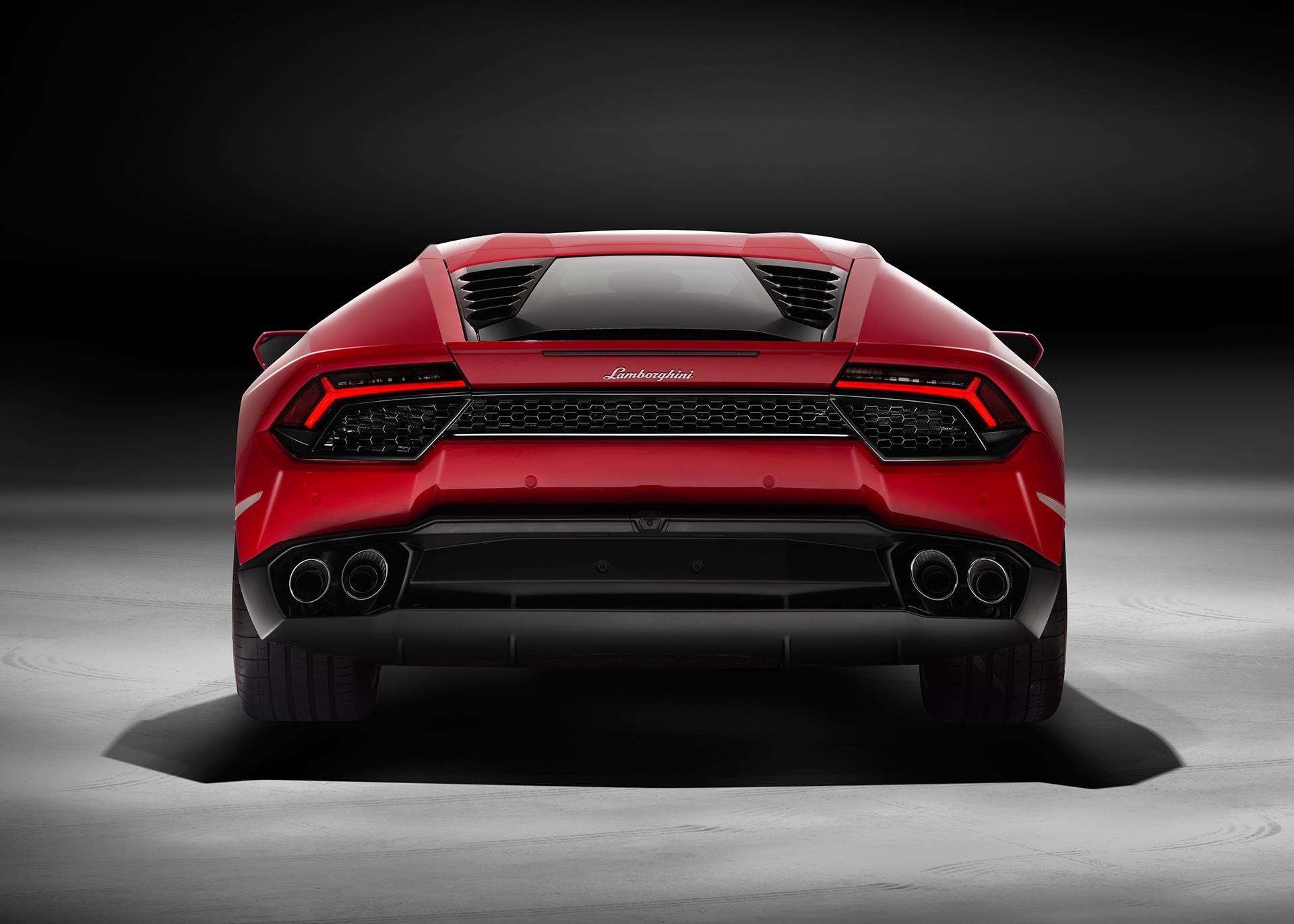 Lamborghini Huracán LP 580-2 - arrière / rear