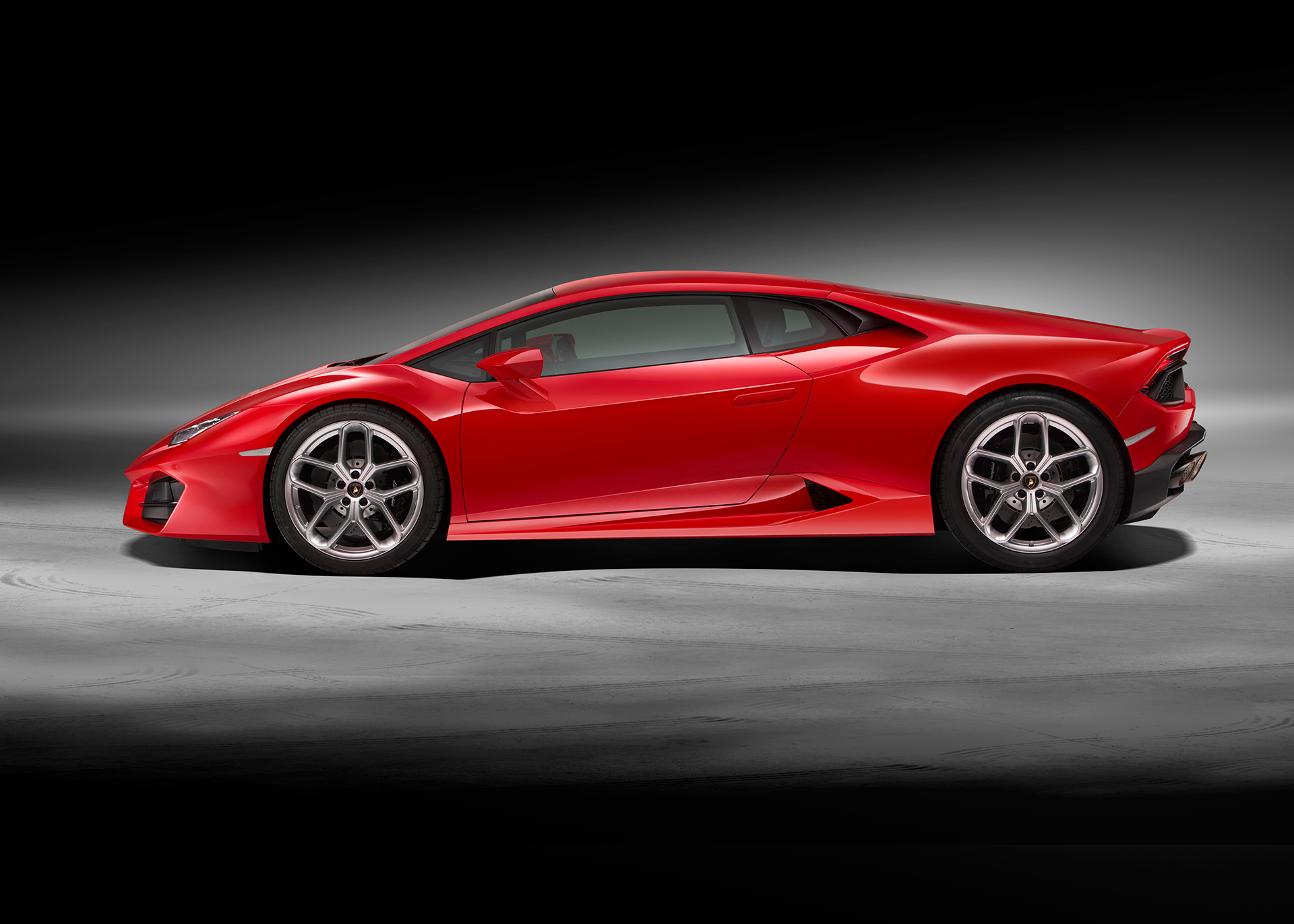 Lamborghini Huracán LP 580-2 - profil / side-face