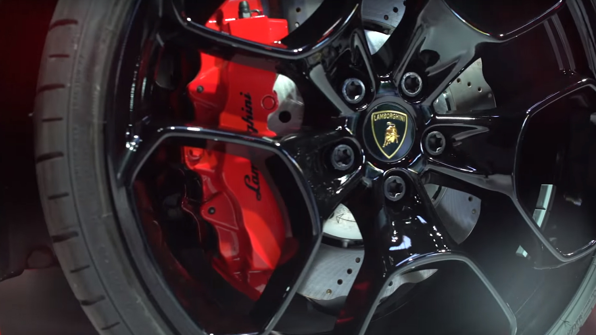 Lamborghini Huracán LP 580-2 - étrier de frein / brake