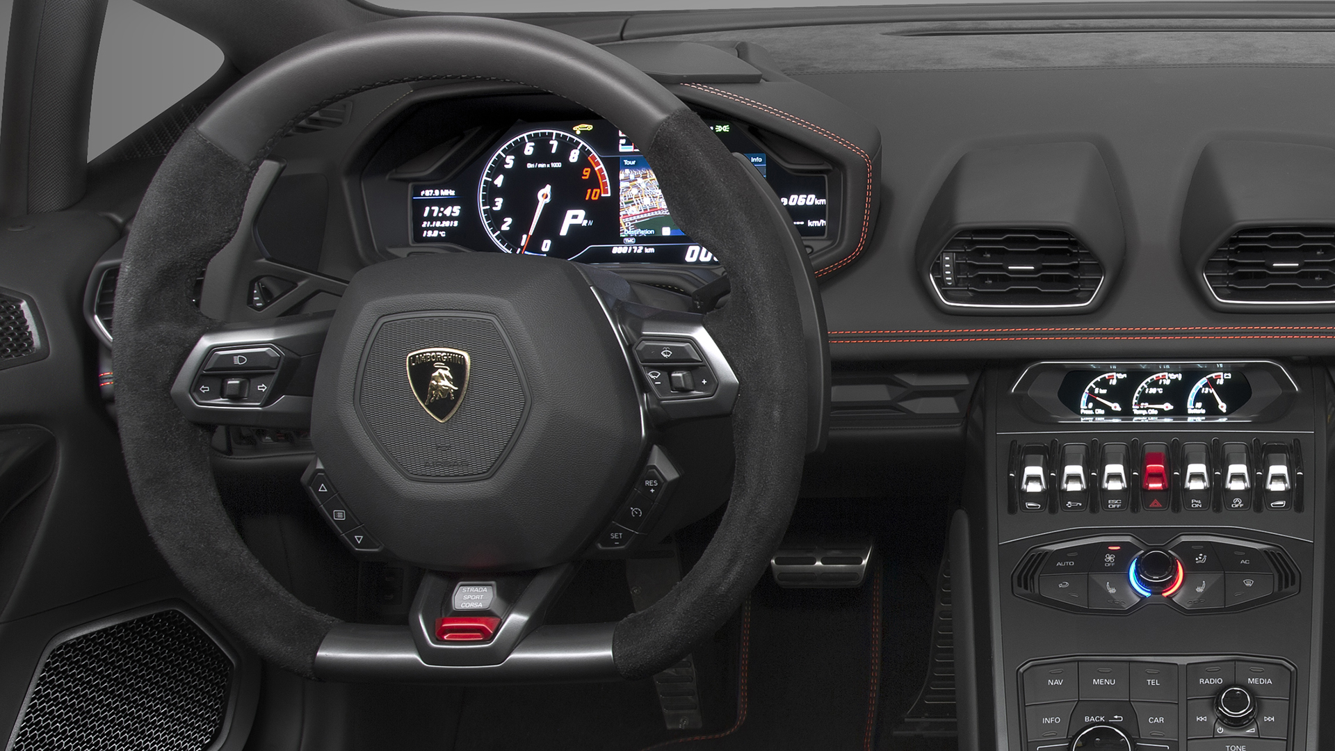 Lamborghini Huracán LP 580-2 - volant / racing wheel