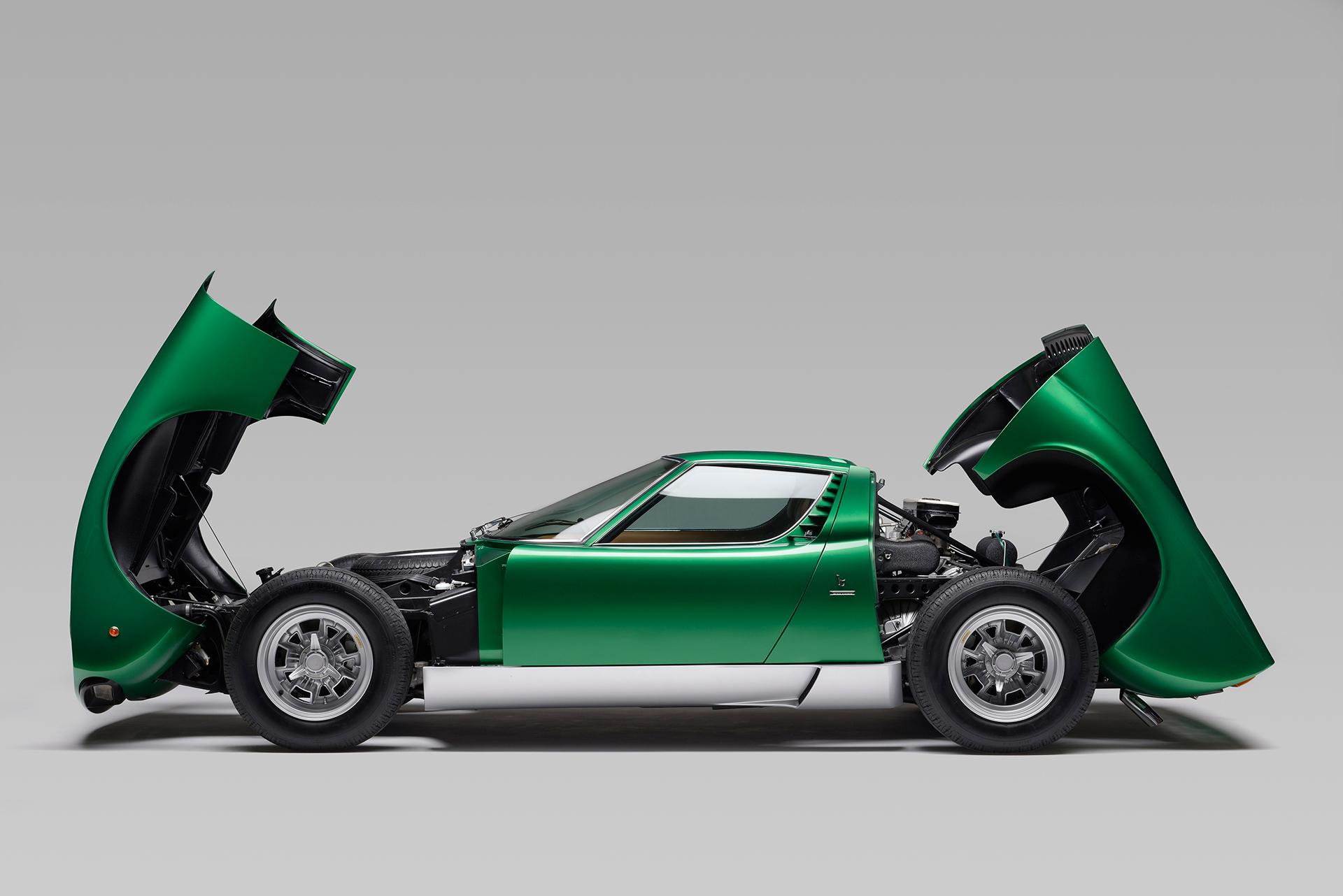 Lamborghini Miura SV 1971- 50 anniversario - Profilo Aperta - 2016