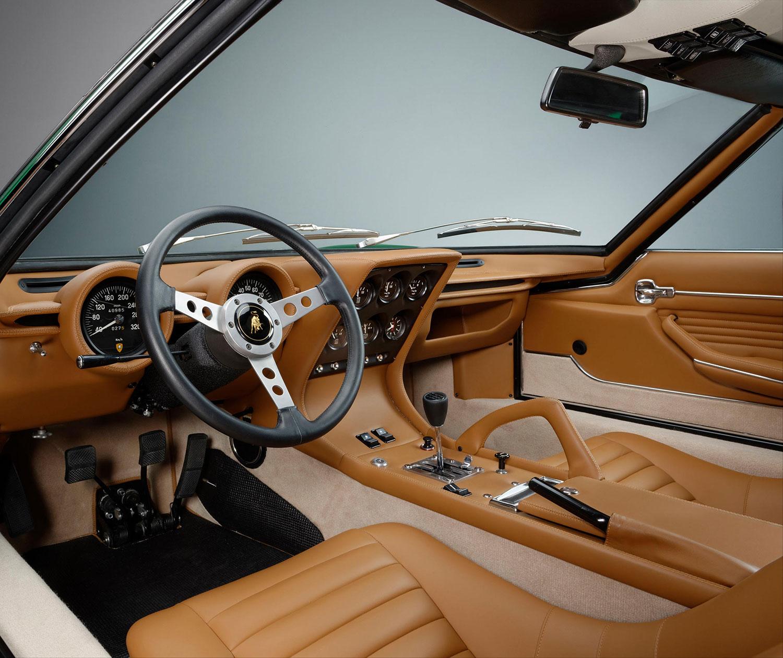 Lamborghini Miura SV 1971- 50 anniversario - interior - 2016