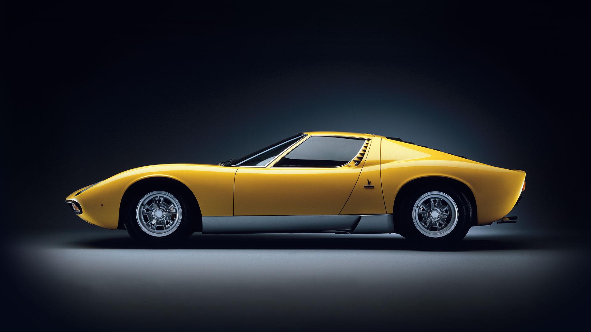 Lamborghini Miura - profil / side-face
