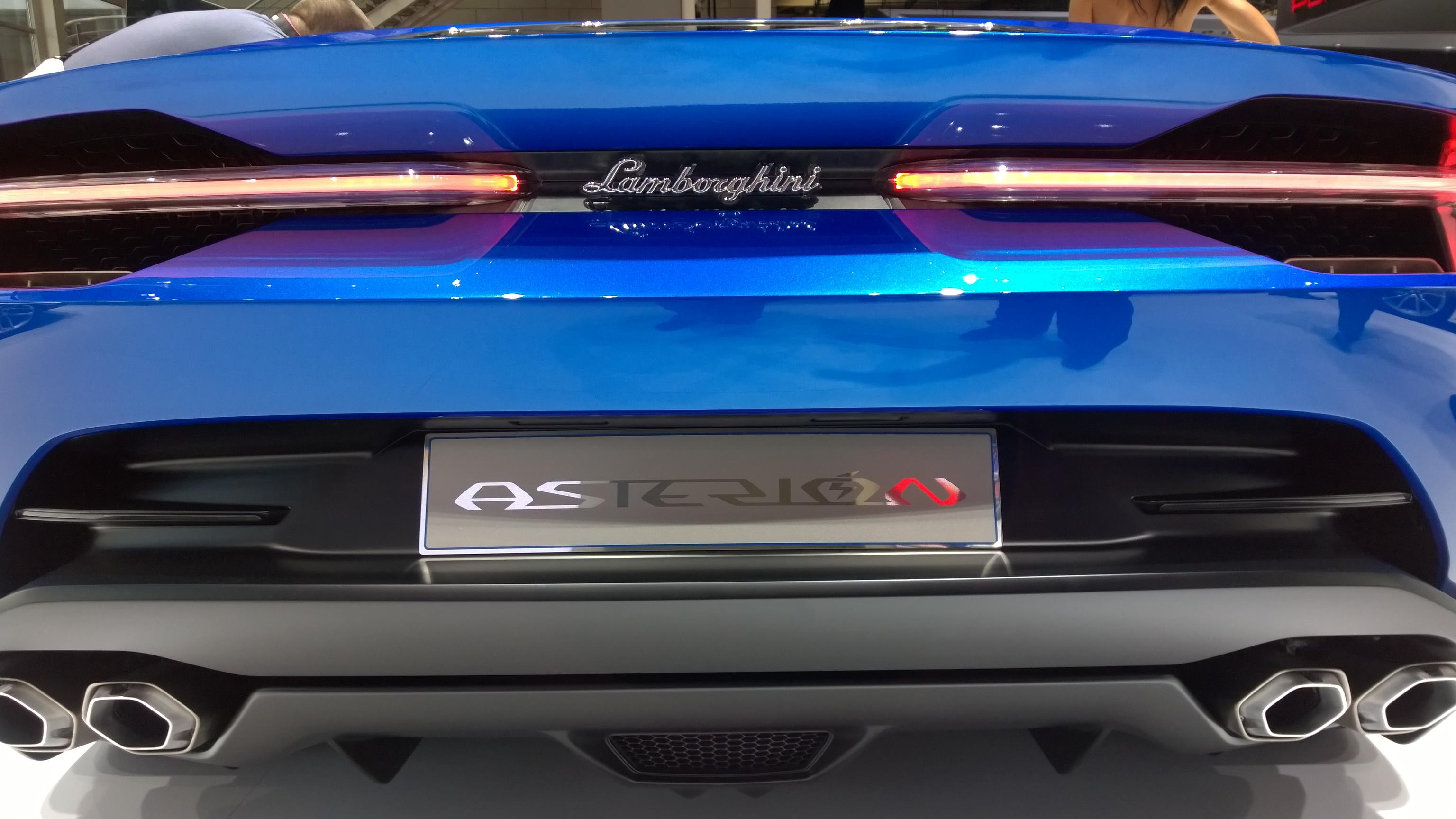 Asterion Toro Mécanique Ibrido électrique 300 Ch 610 Ch V10