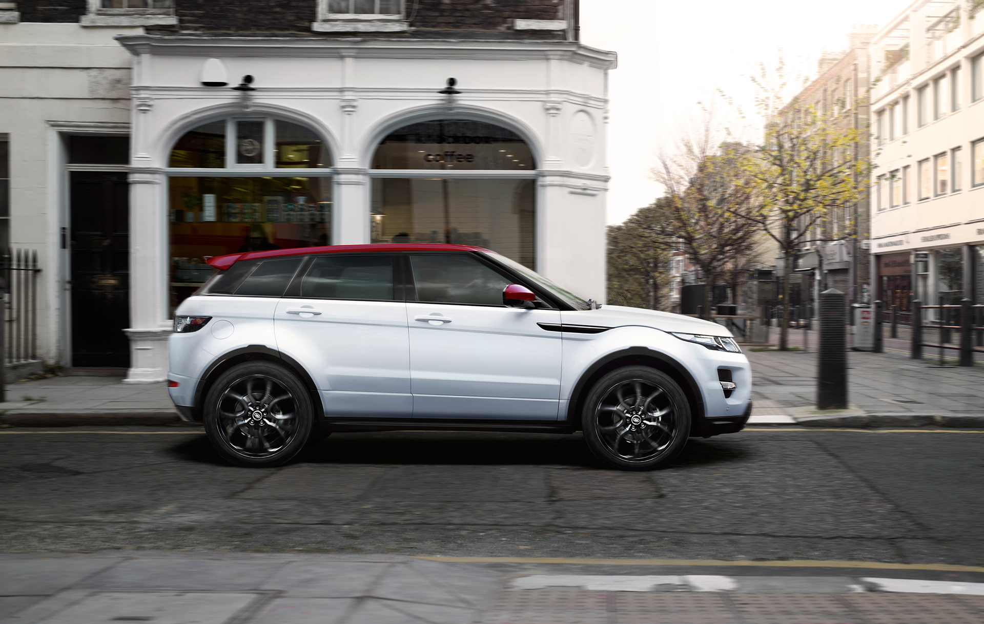 Range Rover Evoque NW8 Special Edition - profil / side-face