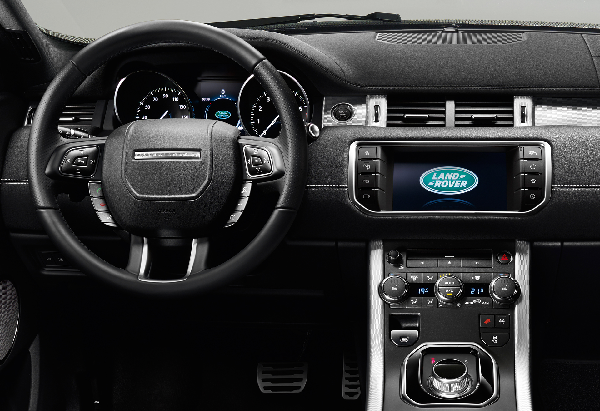Land rover range rover evoque convertible sans quivoque for Interieur sport