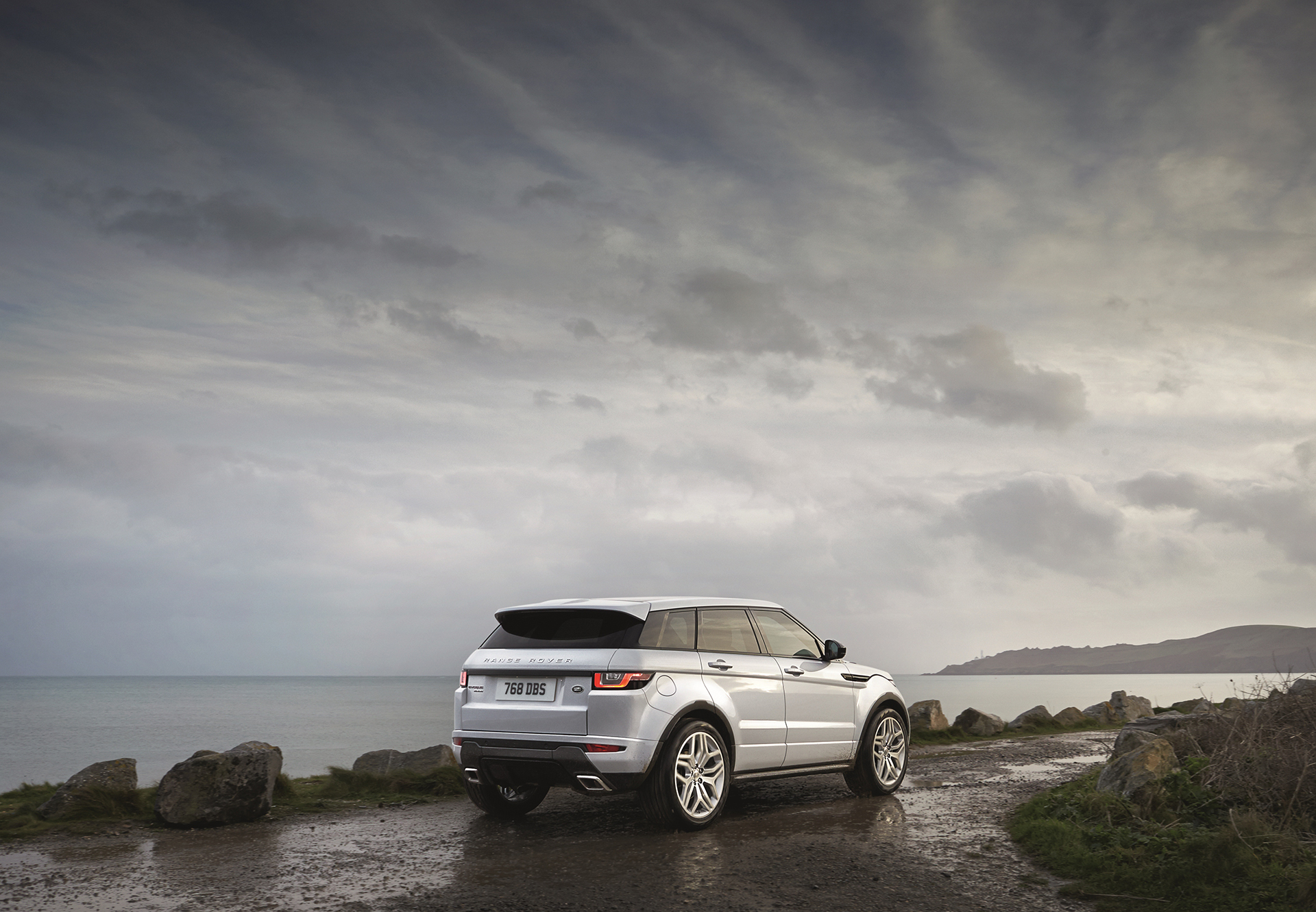 Land Rover Range Rover Evoque - 2016 - profil arrière / rear side-face