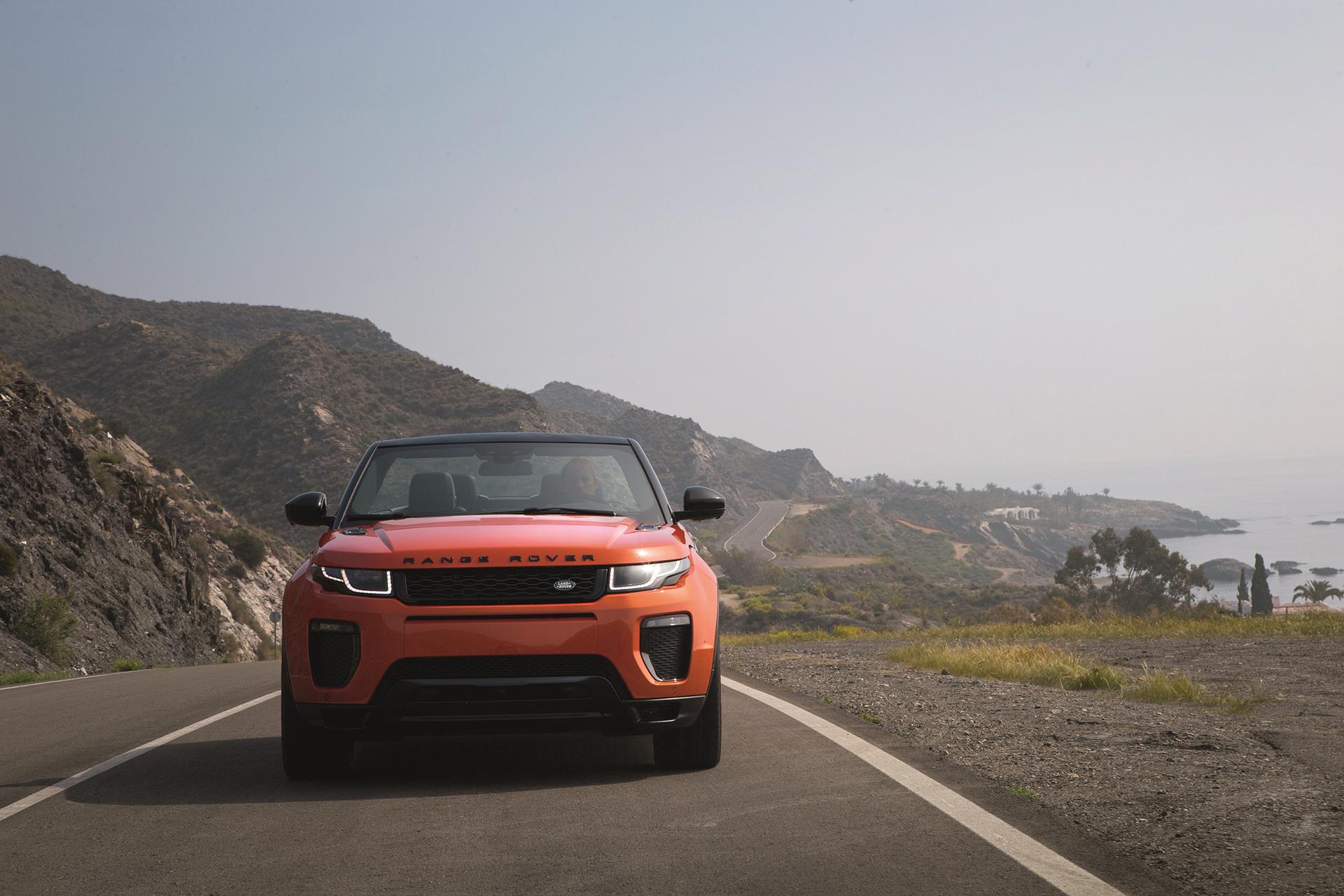 Land Rover Range Rover Evoque Convertible - avant / front