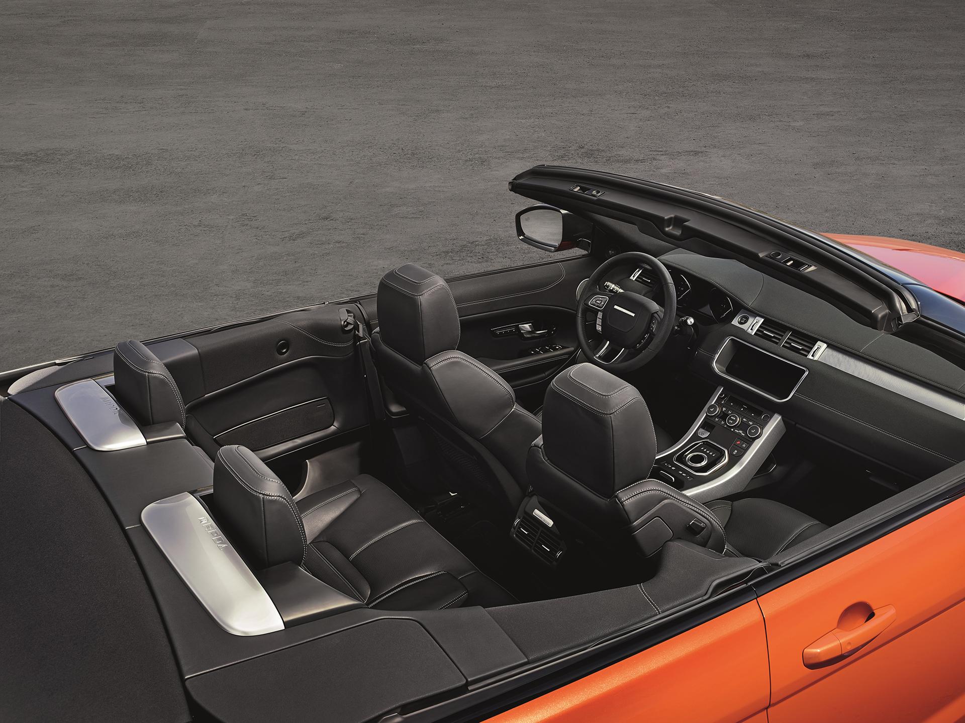 Land Rover Range Rover Evoque Convertible - intérieur / interior