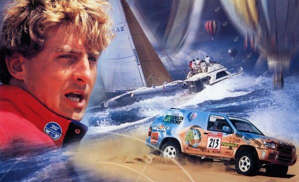 Laurent Bourgnon - Dakar 2001