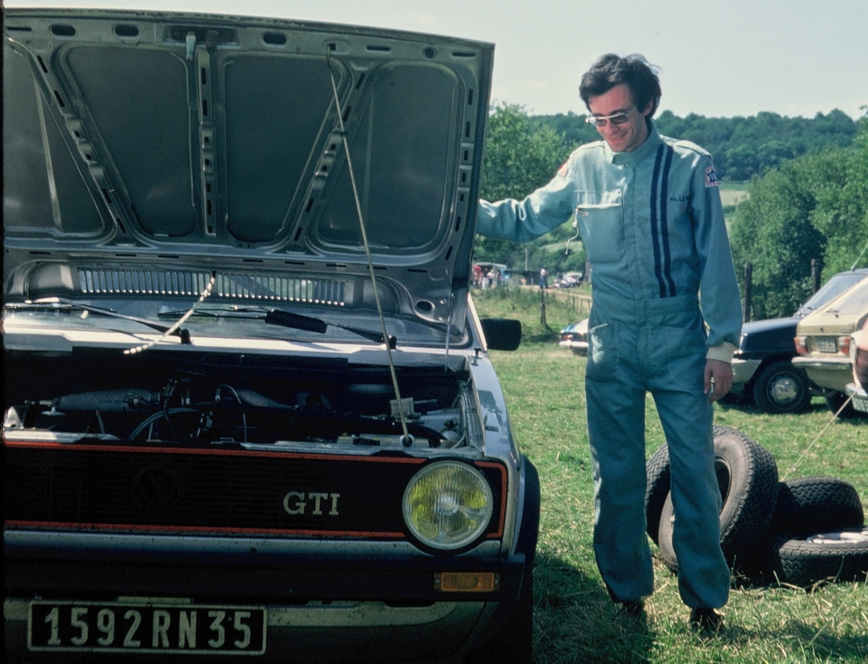Thierry Le Bras - VW Golf GTI - 1977 - Pluméliau - Photo Team TLB