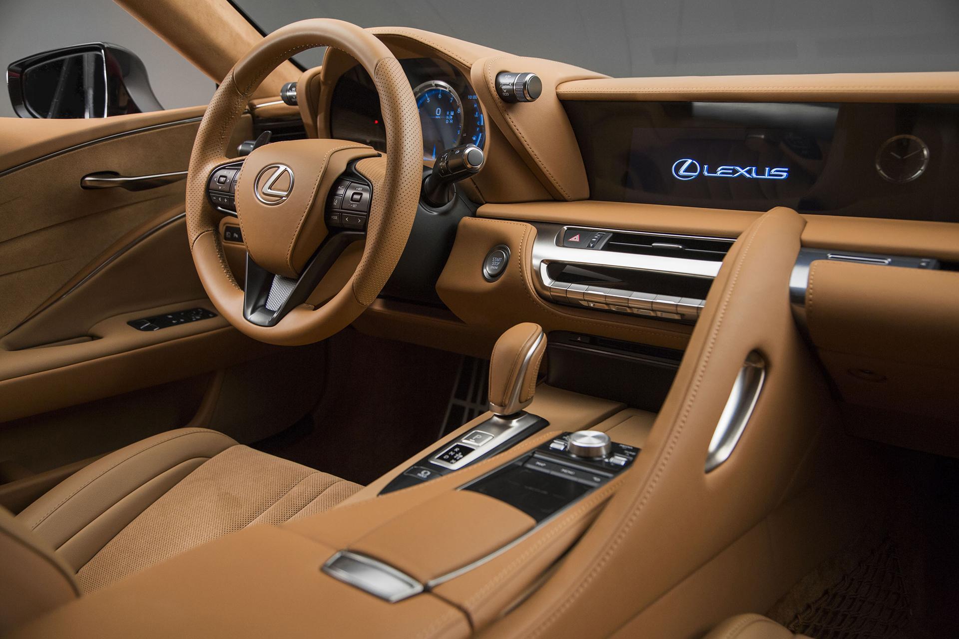 Lexus LC 500 - 2016 - intérior / intérieur