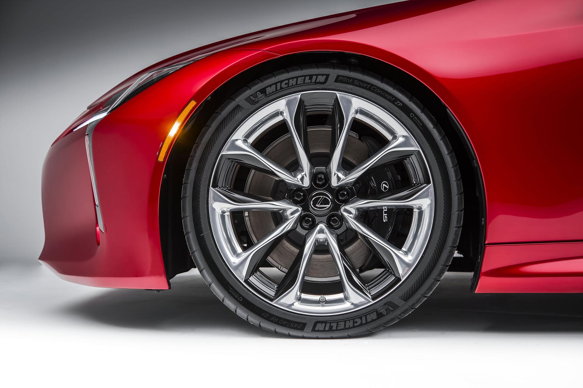 Lexus LC 500 - 2016 - wheel / jante