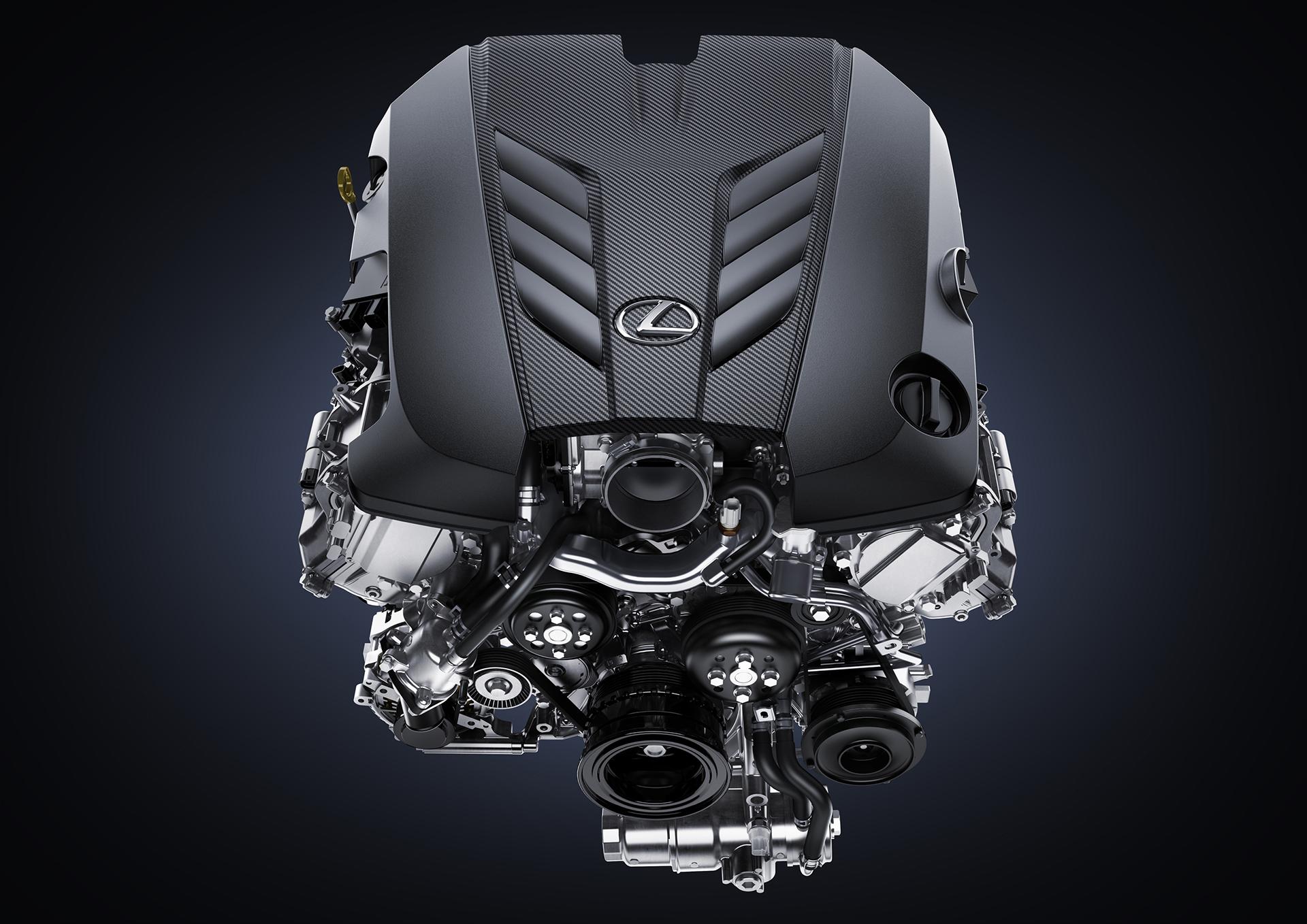 Lexus LC 500 - 2016 - engine / moteur