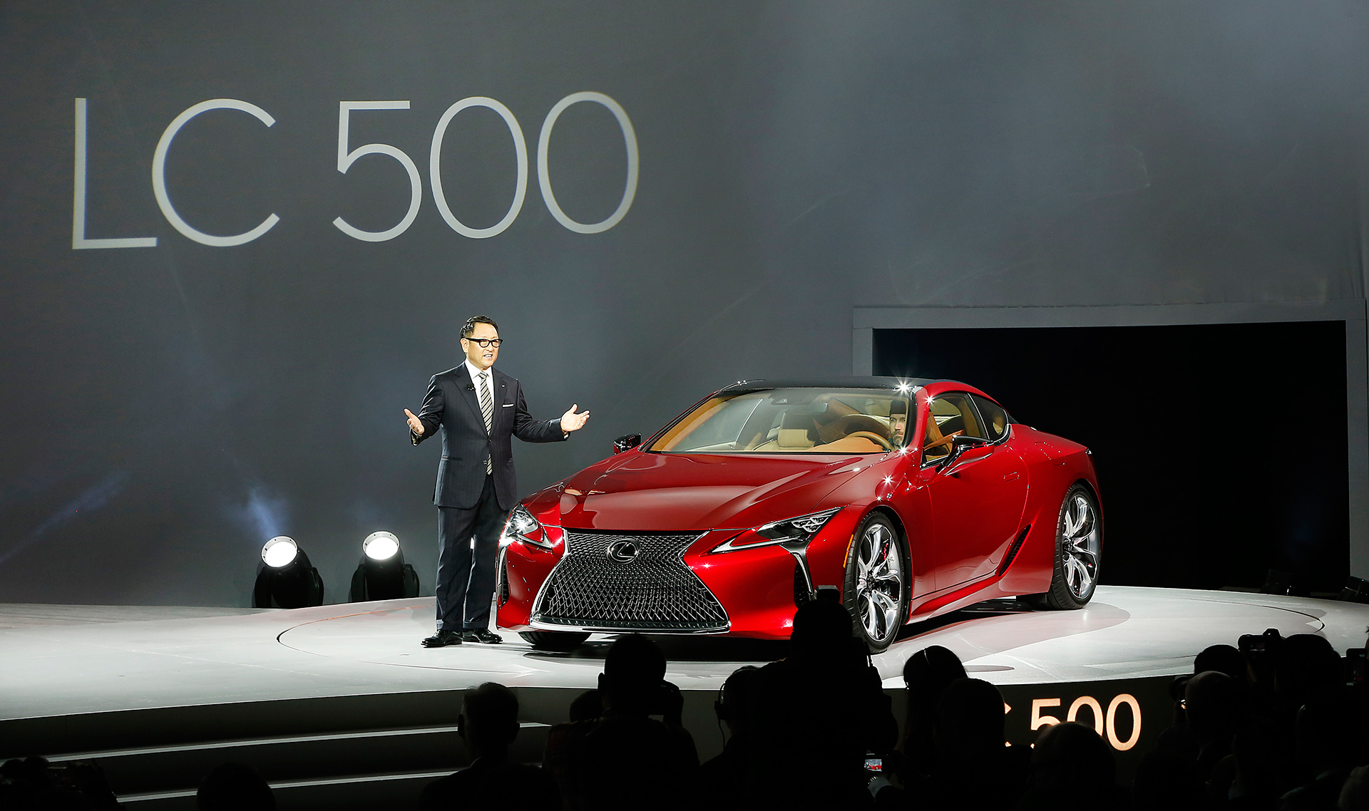 Lexus LC 500 - Press Conference - NAIAS 2016