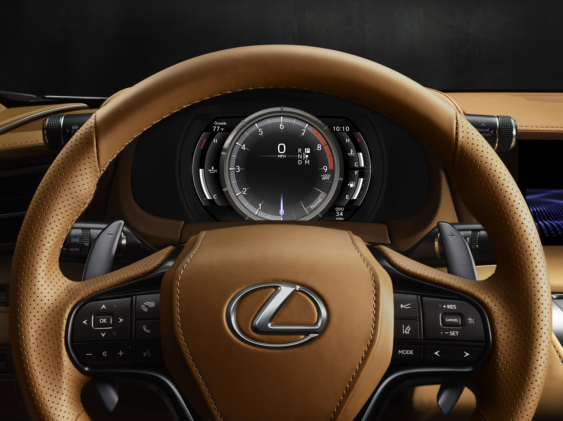 Lexus LC 500 - 2016 - racing wheel / volant