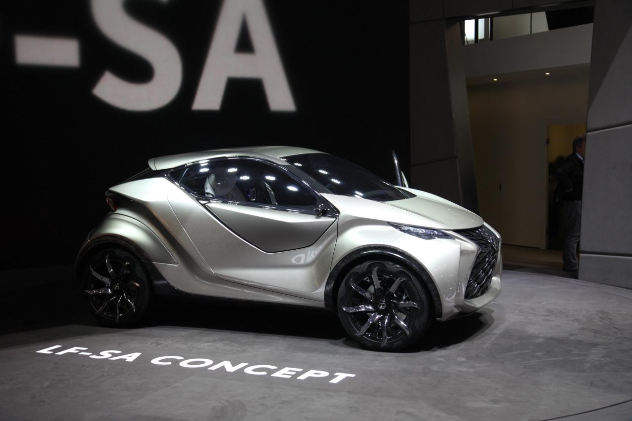 Lexus LF-SA concept - Geneva - 2015 - Camille Pinet