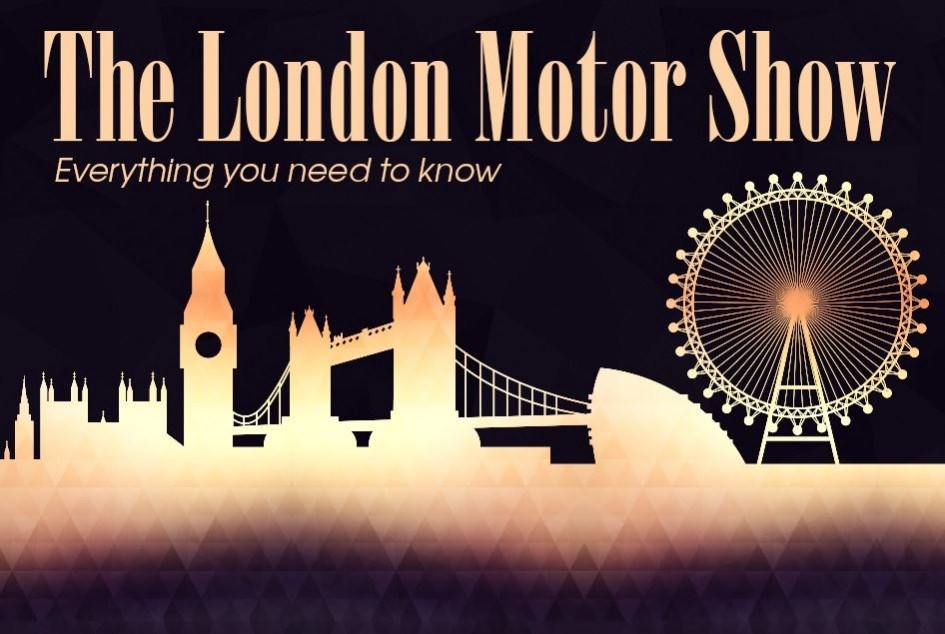 London Motor Show 2016 - infographie - cover