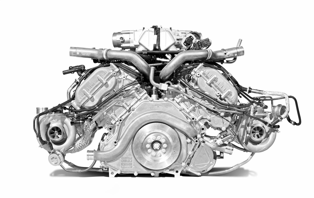 Moteur M838T - McLaren