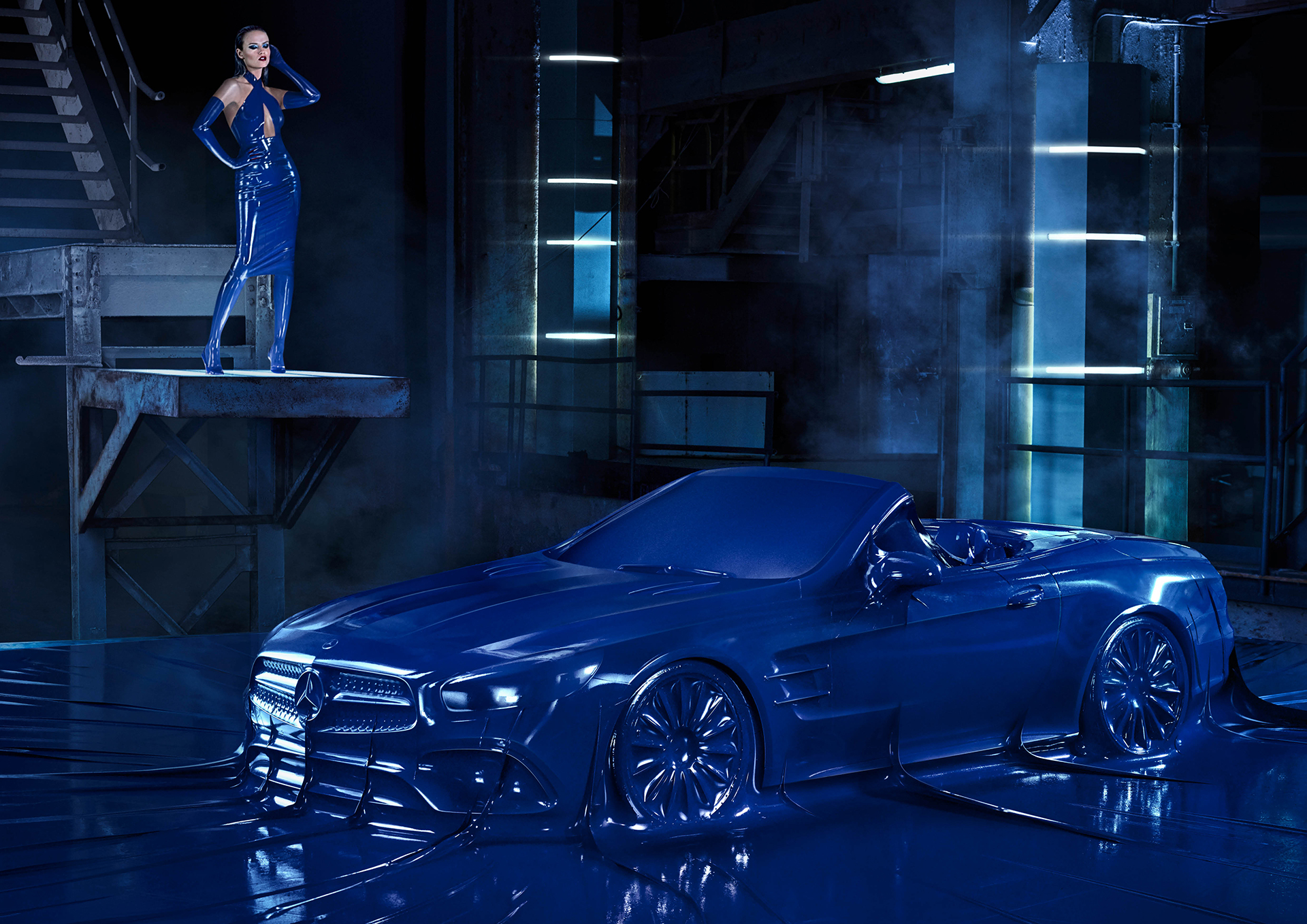 Mercedes-Benz Autumn/Winter 2016 Fashion Campaign: Obsession with an Icon - SL