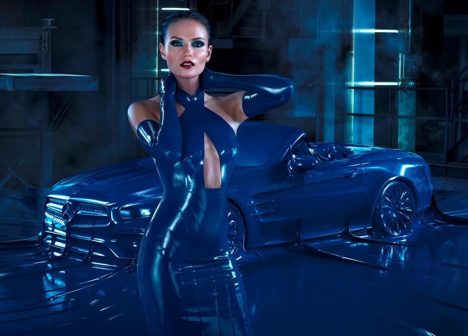 Mercedes-Benz Autumn/Winter 2016 Fashion Campaign: Obsession with an Icon - Natasha Poly