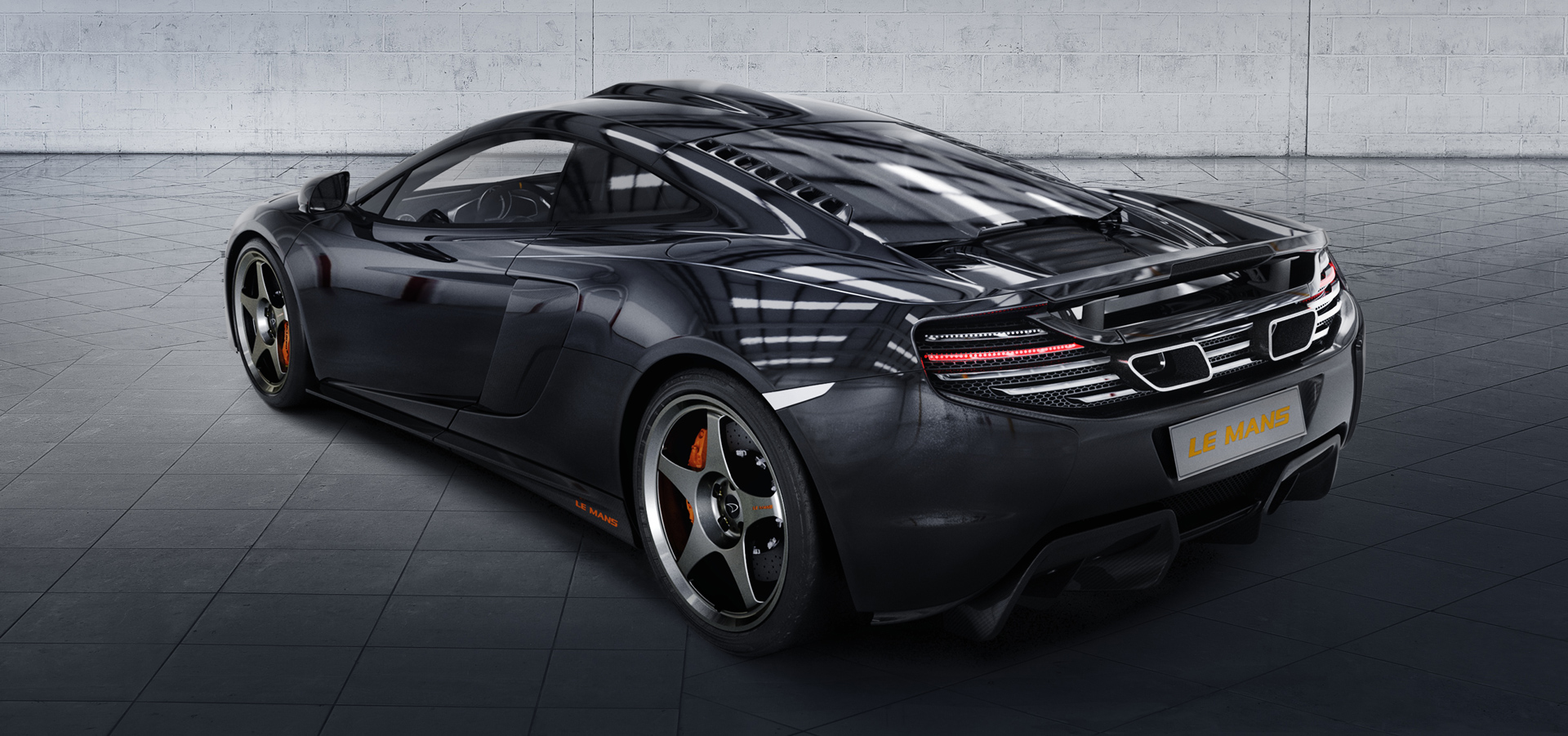 McLaren 650S MSO Le Mans Edition - arrière