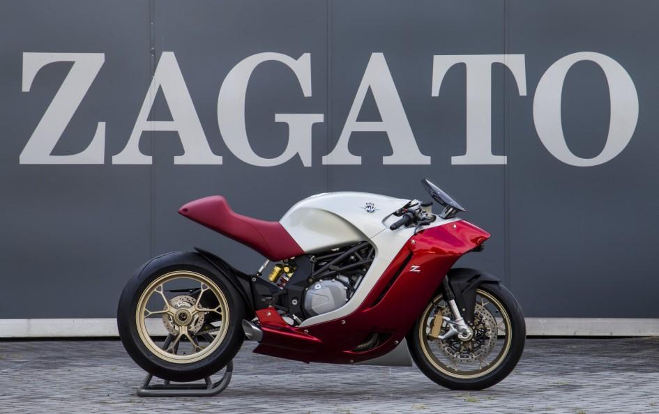 MV Agusta F4Z Zagato - side-face / profil