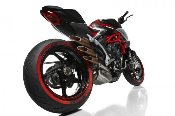 MV Agusta Pirelli Diablo Brutale - 2016 - rear / arrière