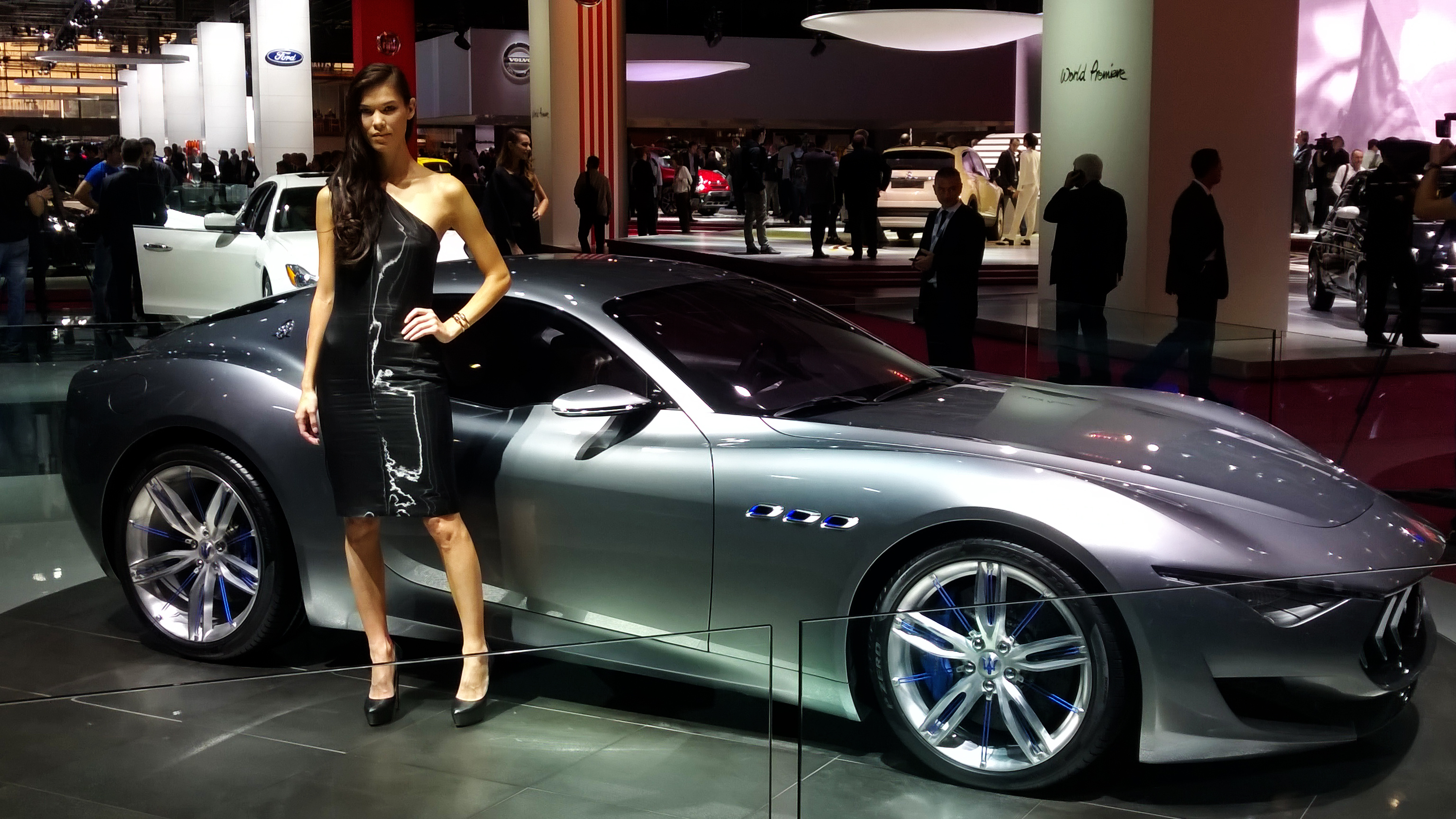 Maserati Alfieri - Paris 2014 - DESIGNMOTEUR