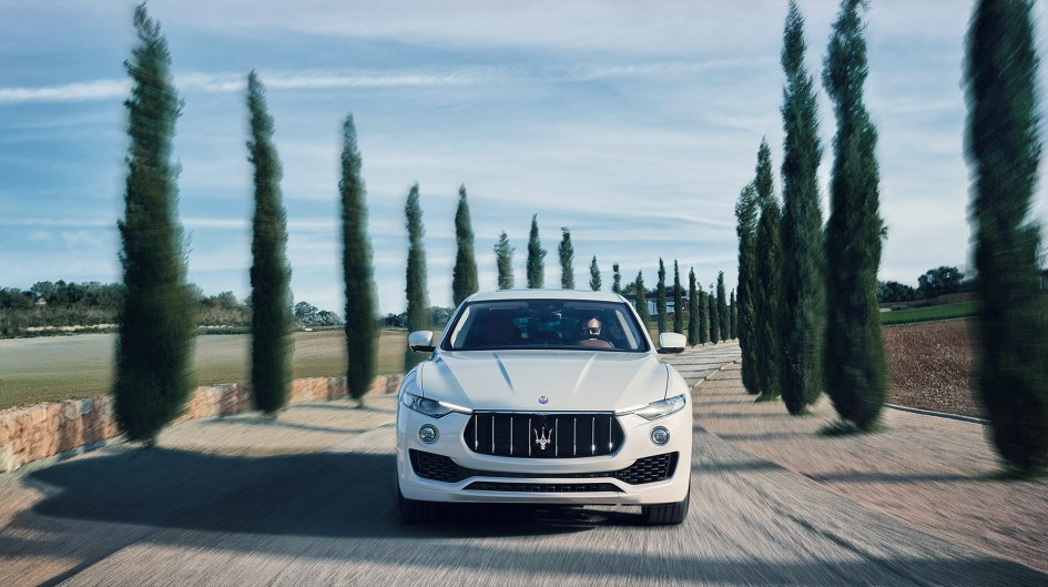 Maserati Levante - 2016 - photo road front