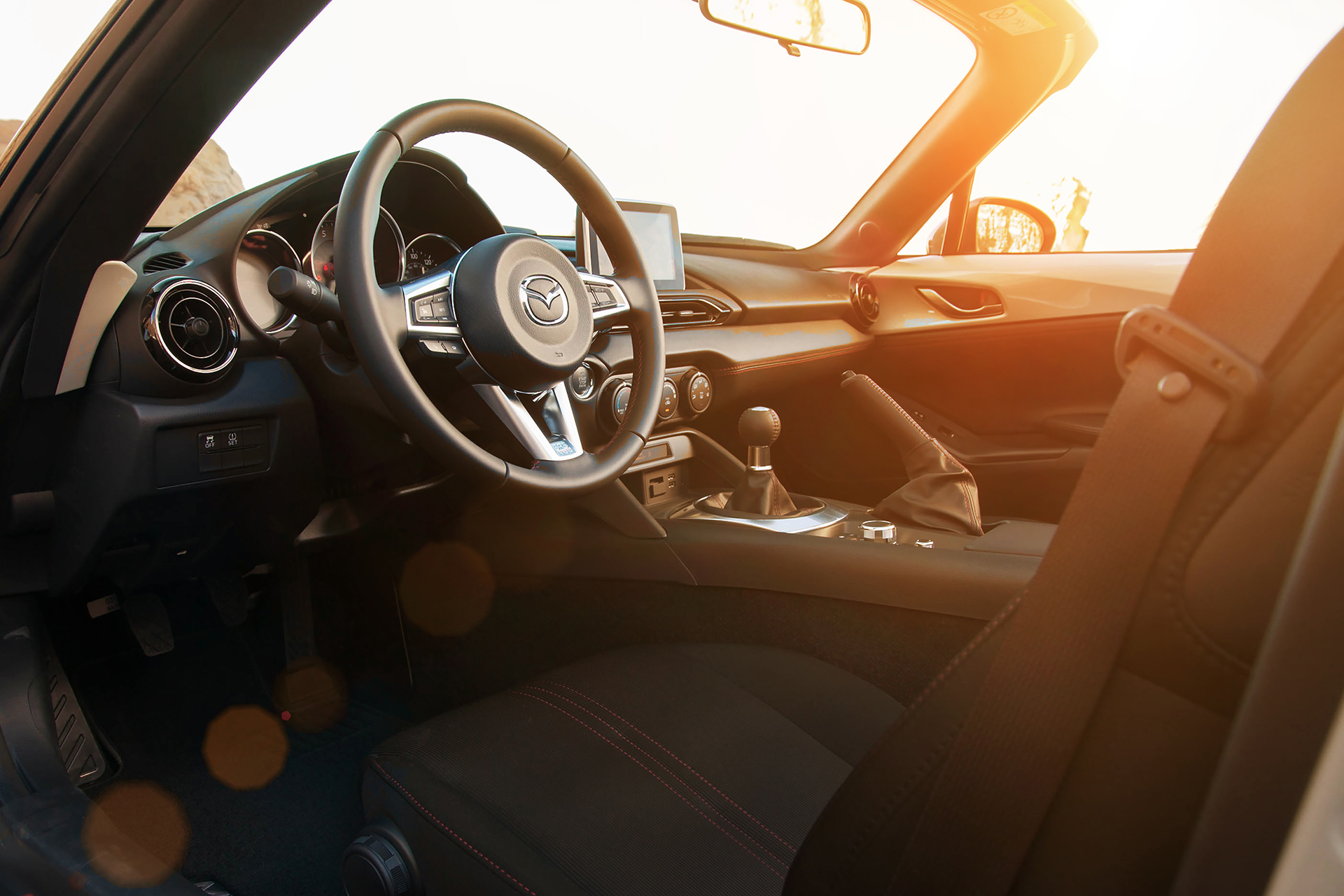 Mazda MX-5 - 2016 - intérieur / interior