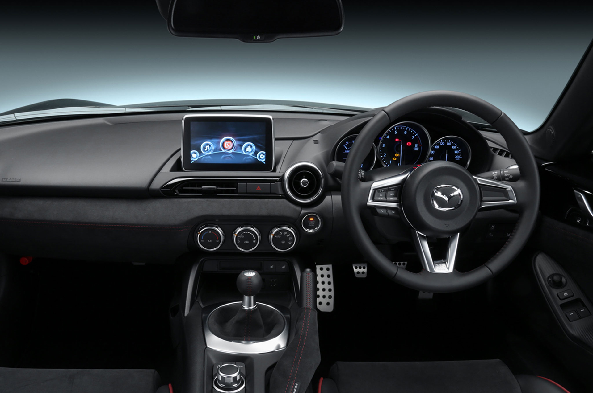 Mazda MX-5 Racing Concept - Tokyo Auto Salon 2016 - volant / racing wheel