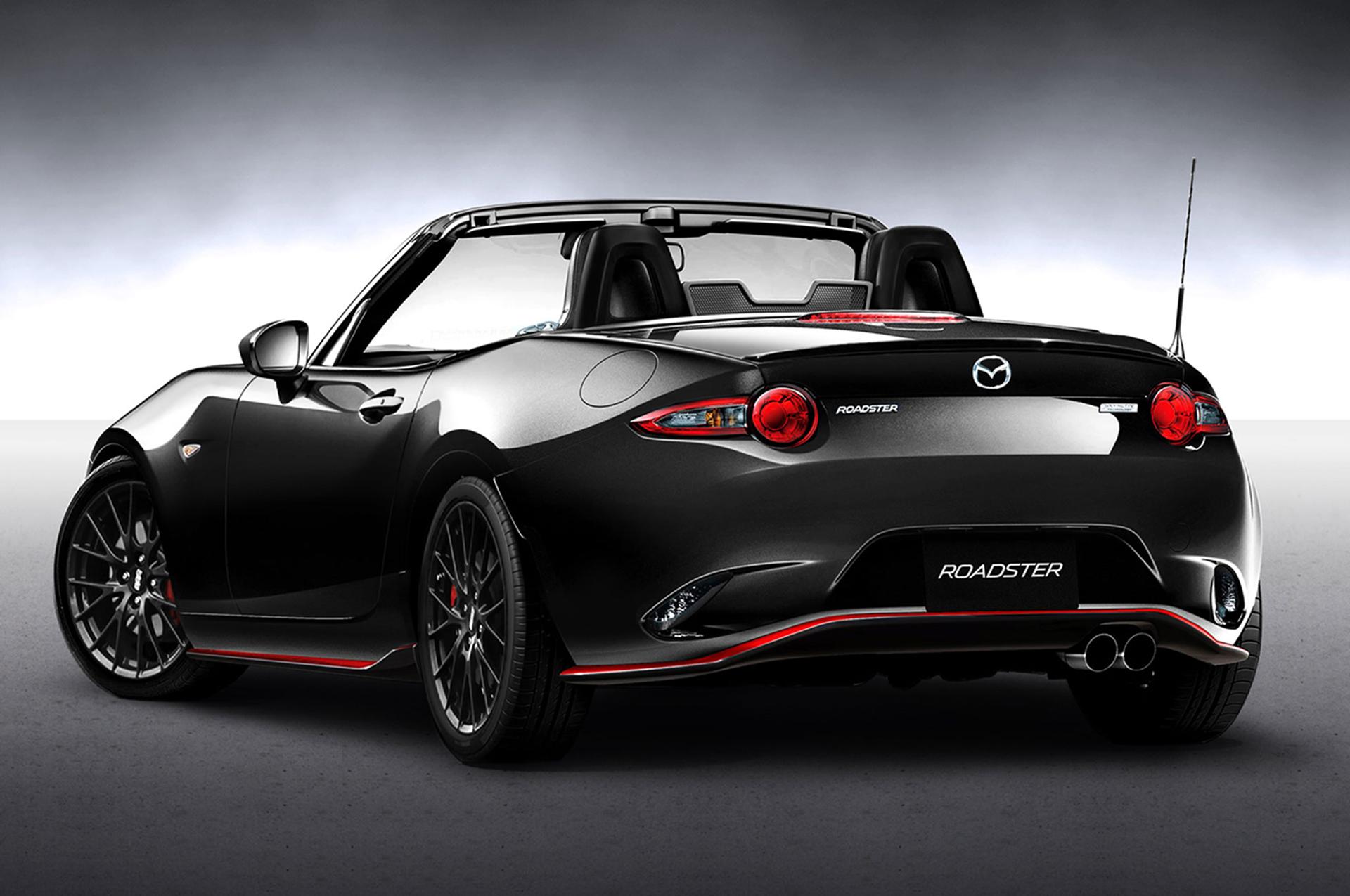 Mazda MX-5 Racing Concept - Tokyo Auto Salon 2016 - arrière / rear