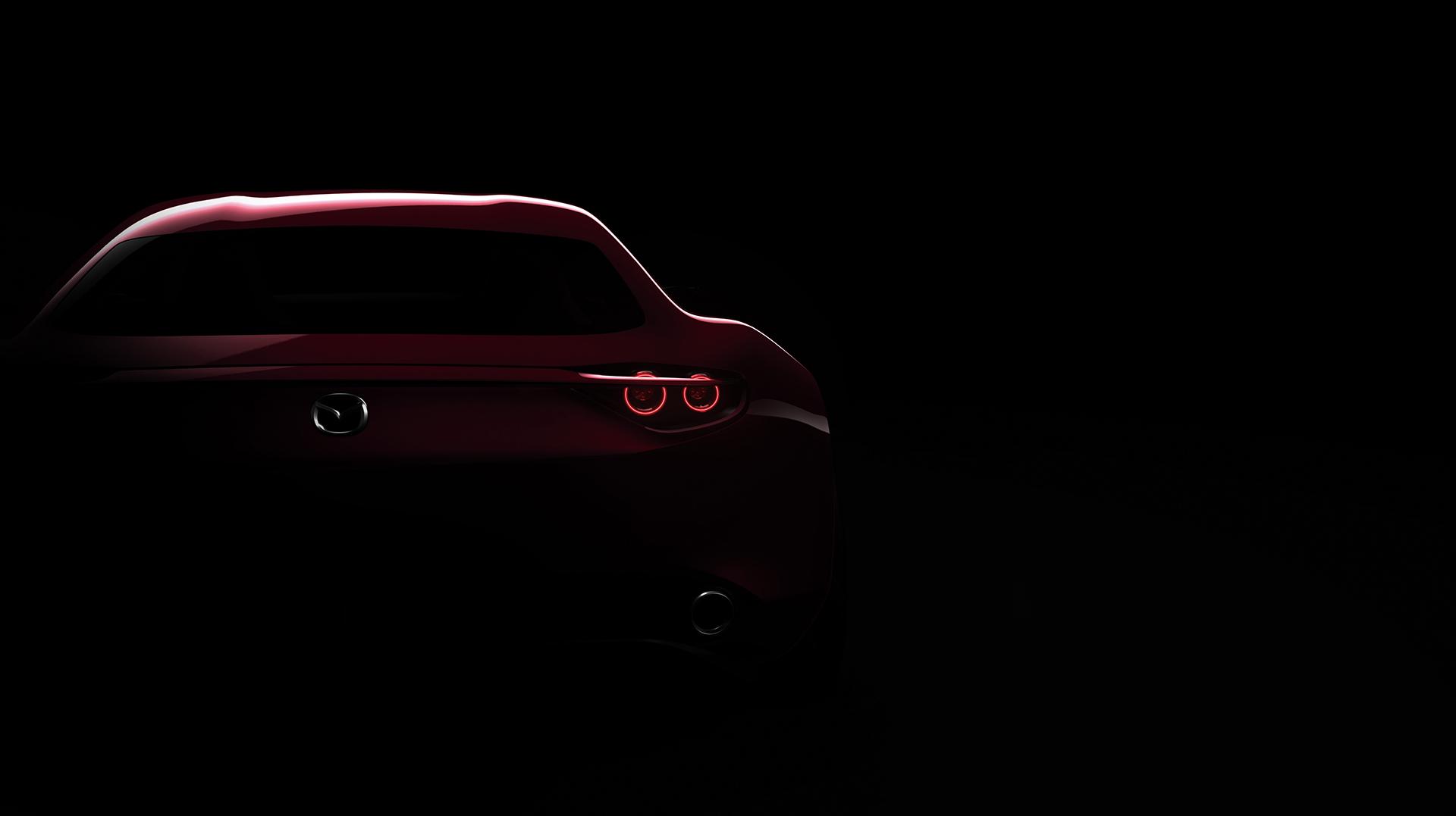 Mazda RX-VISION Concept - 2015 - arrière / rear