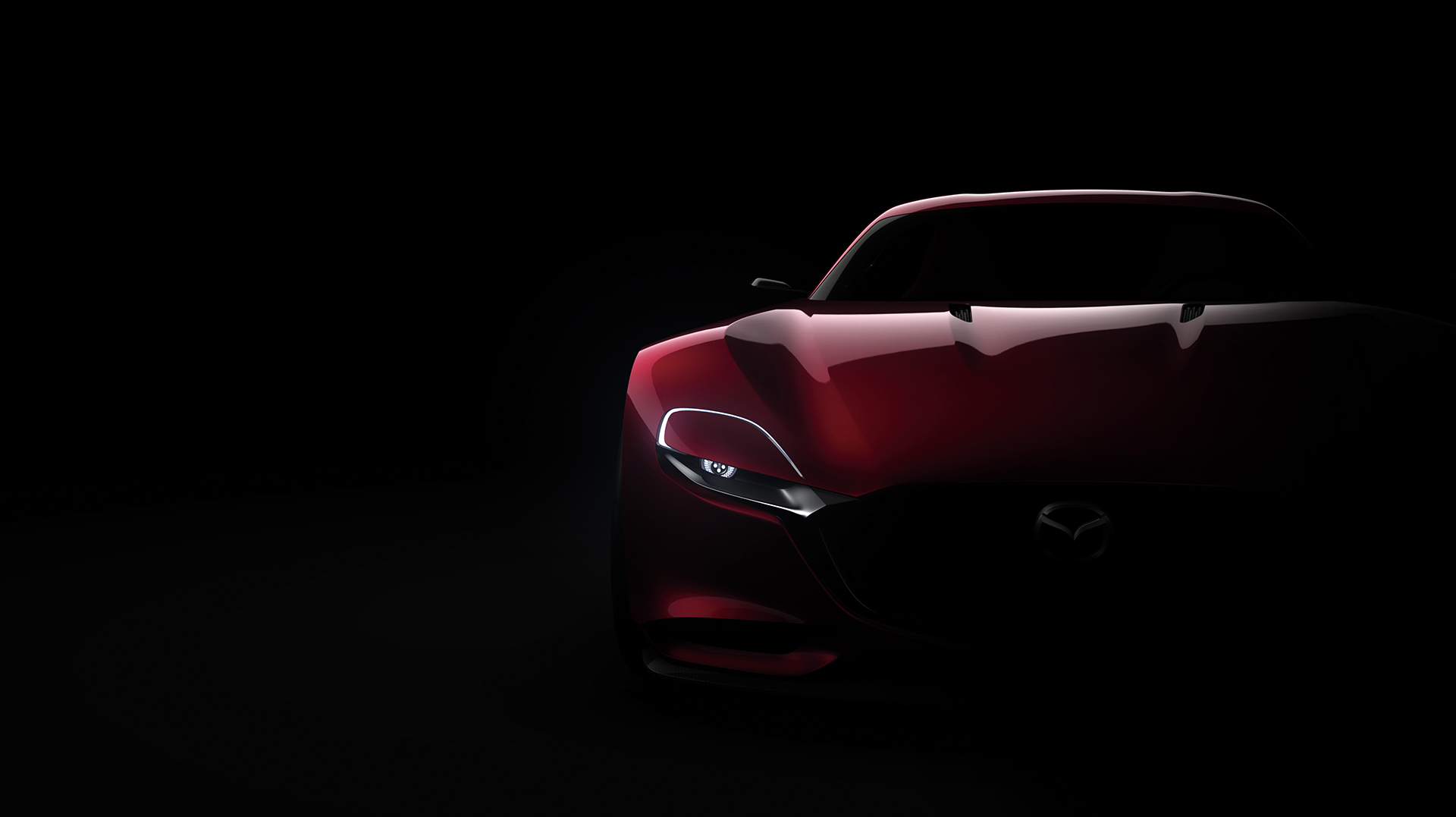 Mazda RX-VISION Concept - 2015 - face avant / front