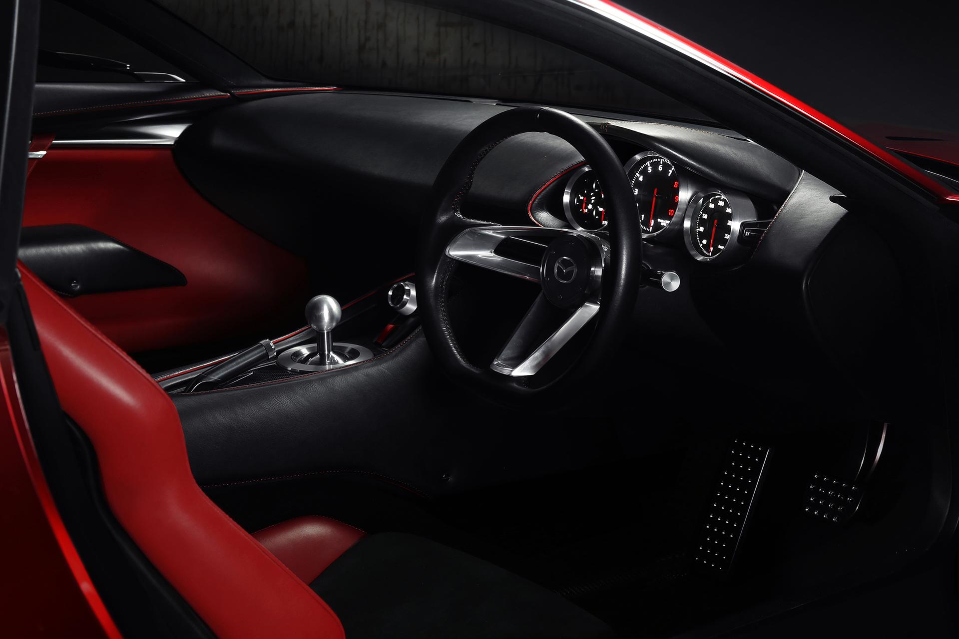 Mazda RX-VISION Concept - 2015 - intérieur / interior
