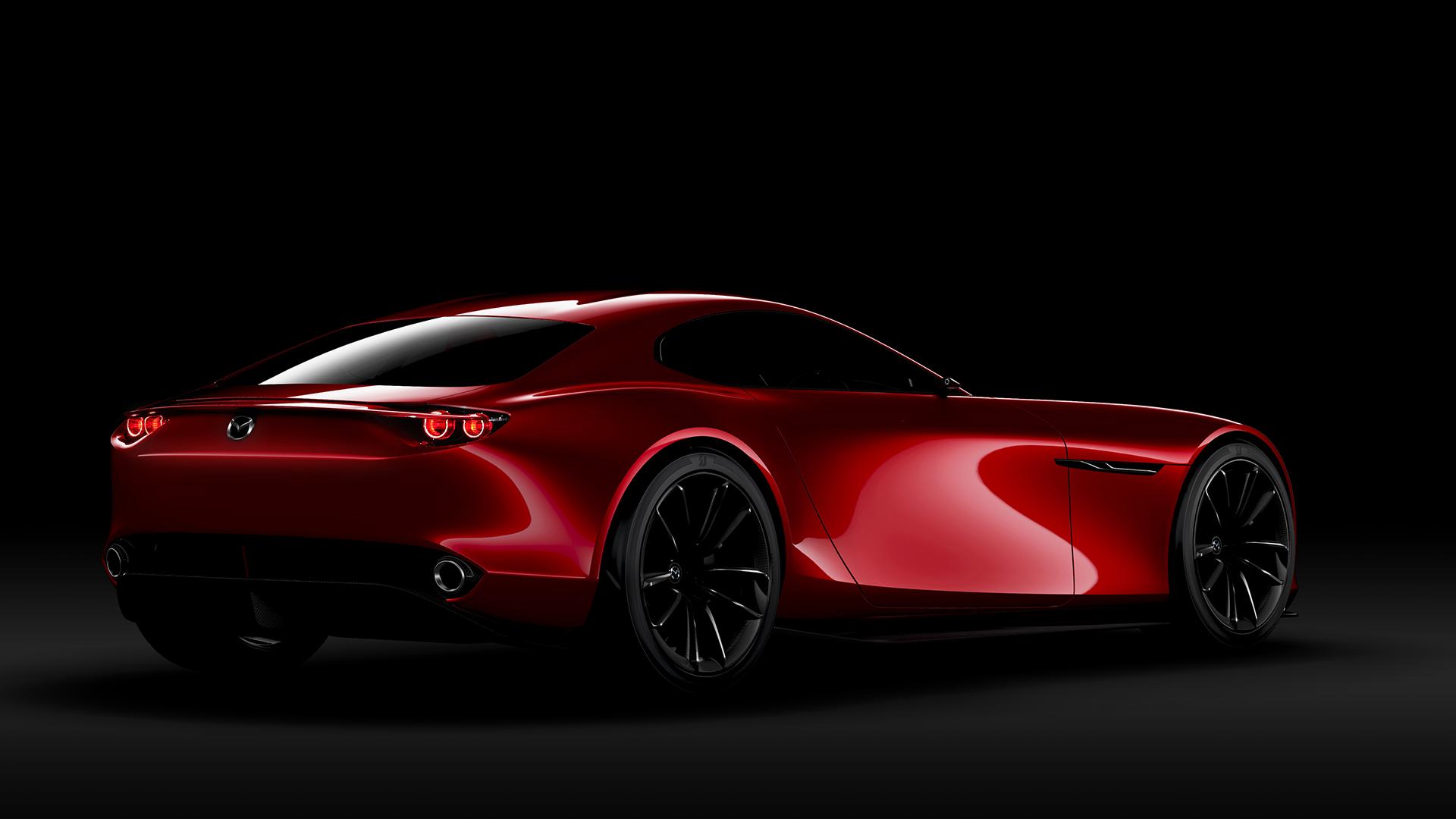 Mazda RX-VISION Concept - 2015 - profil arrière / rear side-face