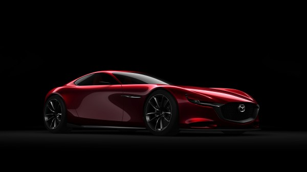 Mazda RX-VISION Concept - 2015 - profil avant / front side-face