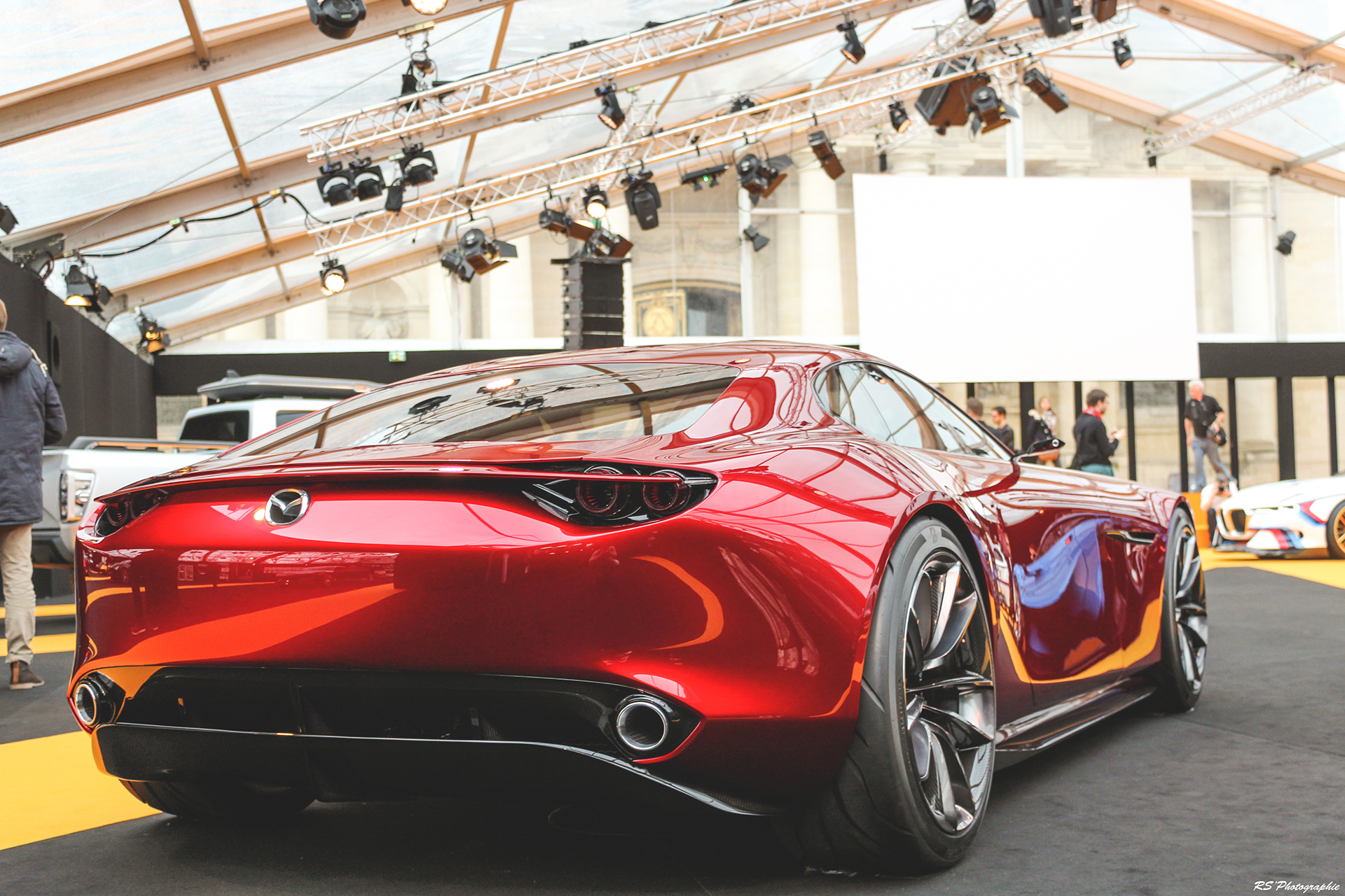 Mazda RX Vision - arrière / rear - Exposition Concept cars 2016 - Arnaud Demasier RS Photographie