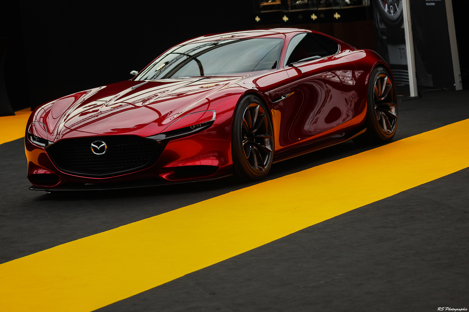Mazda RX Vision - avant / front - Exposition Concept cars 2016 - Arnaud Demasier RS Photographie