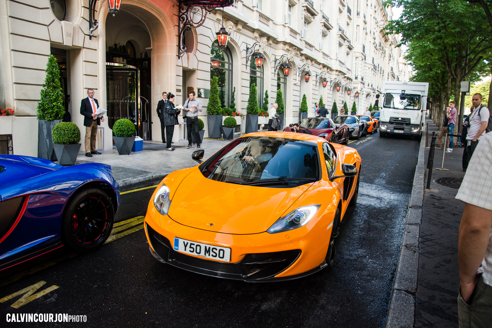 McLaren MP4-12C (2012) avant - 2015 - photo Calvin Courjon