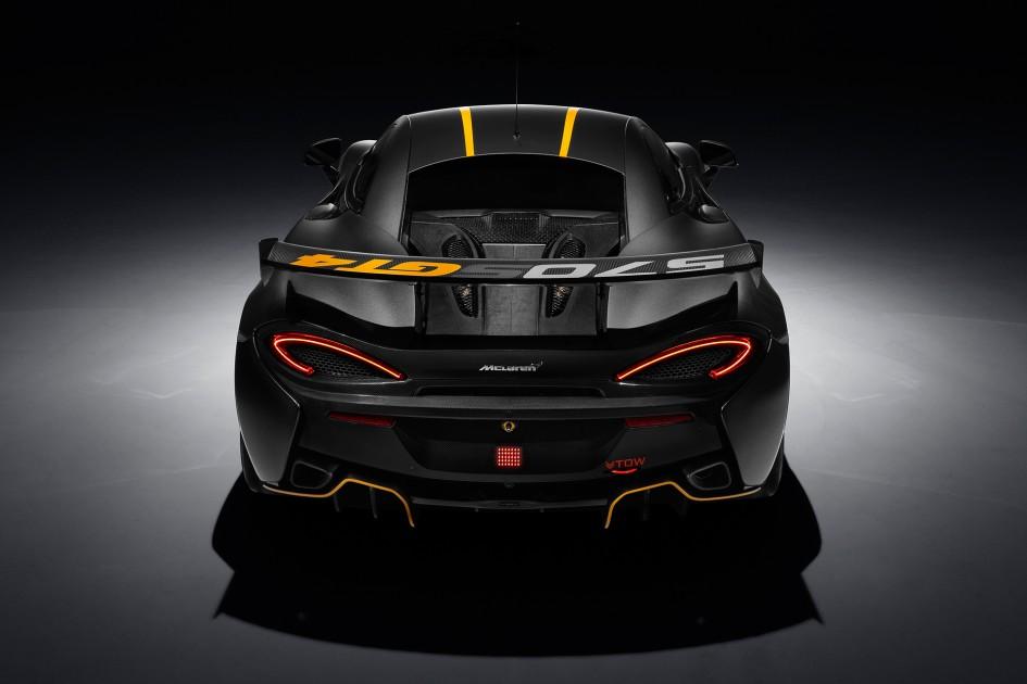 McLaren 570S GT4 - rear / arrière - 2016