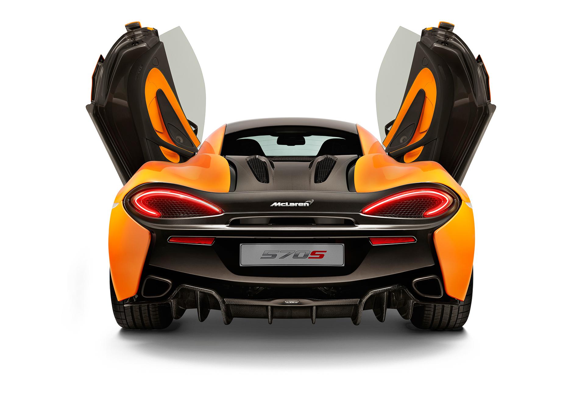 McLaren 570S Coupé - rear face / face arrière