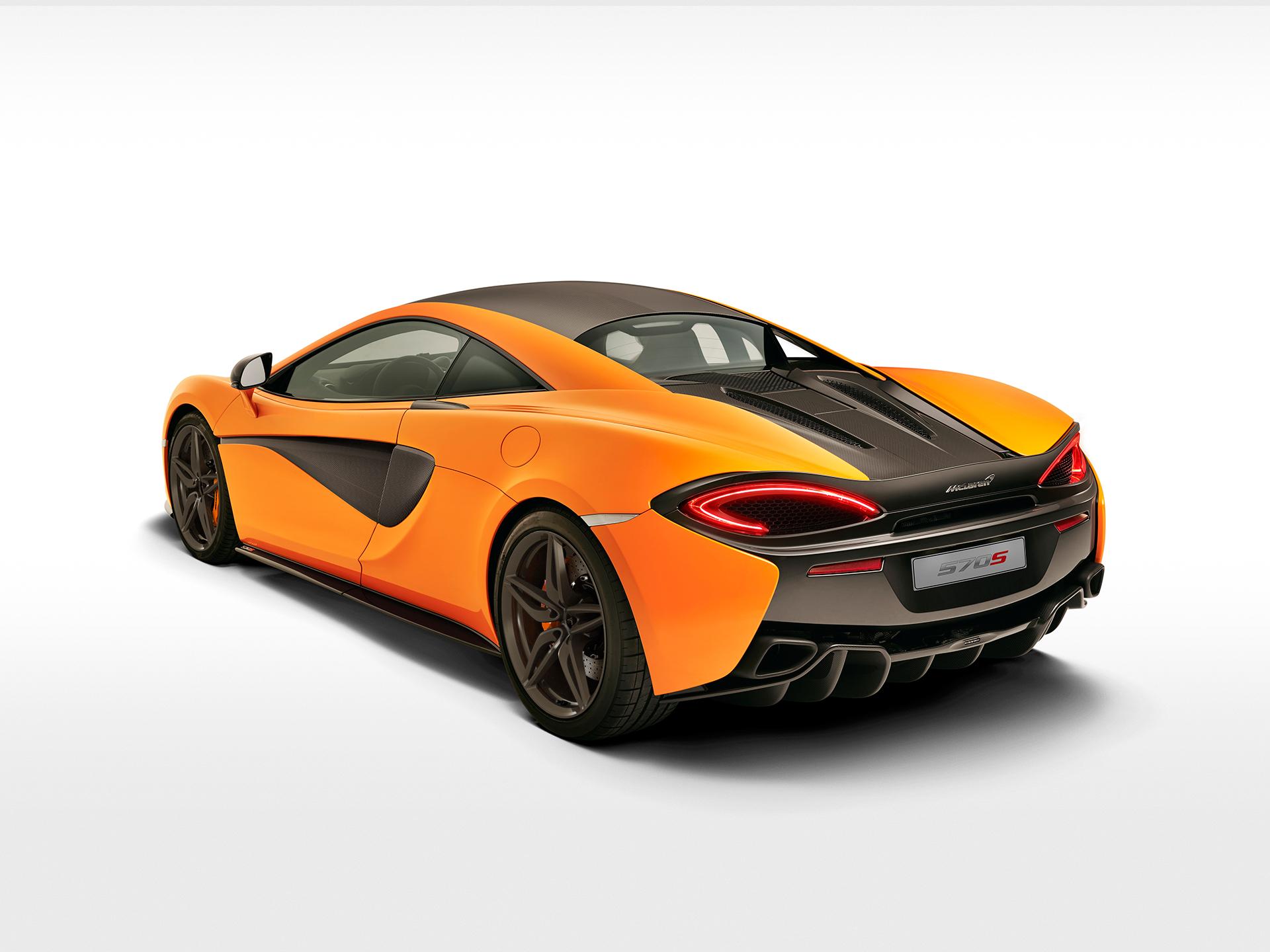 McLaren 570S Coupé - rear side face / profil arrière