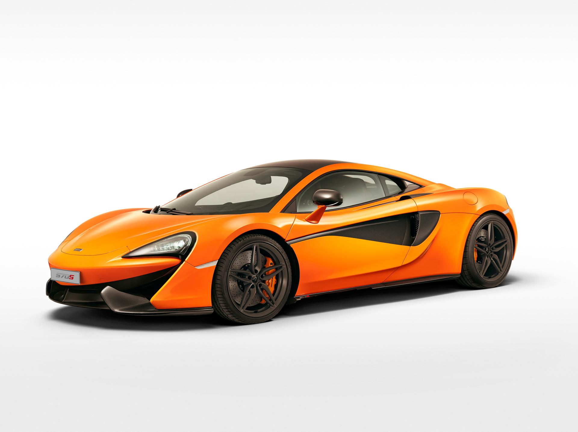 McLaren 570S Coupé - front side face / profil avant
