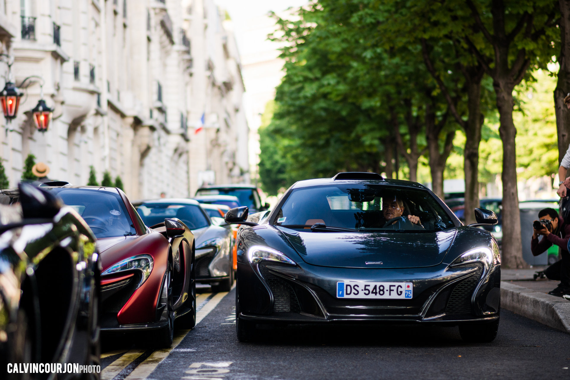 McLaren 650S - Edition Le Mans by MSO - avant - 2015 - photo Calvin Courjon