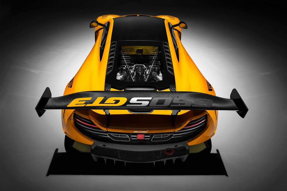 McLaren 650S GT3 - 2016 - rear wing / aileron arrière