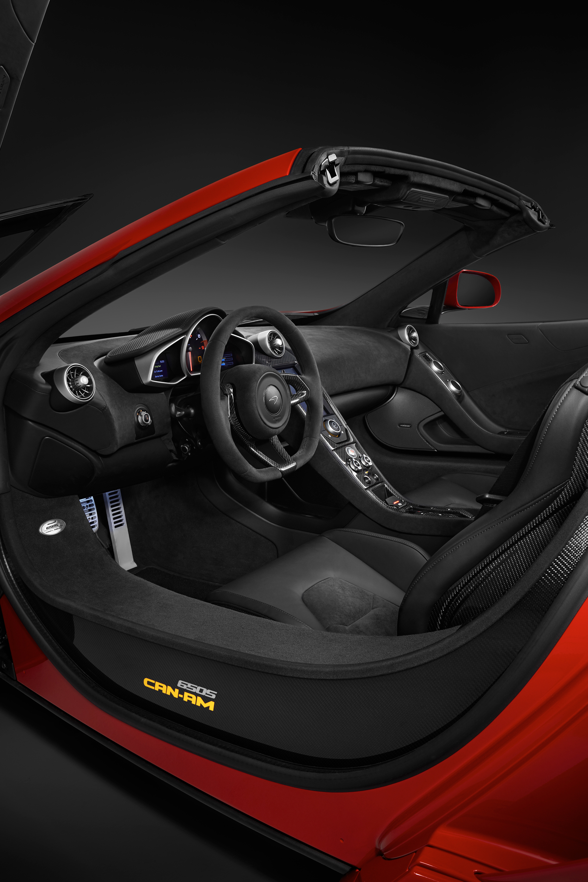 McLaren 650S MSO 50 years Can-Am - interior / intérieur