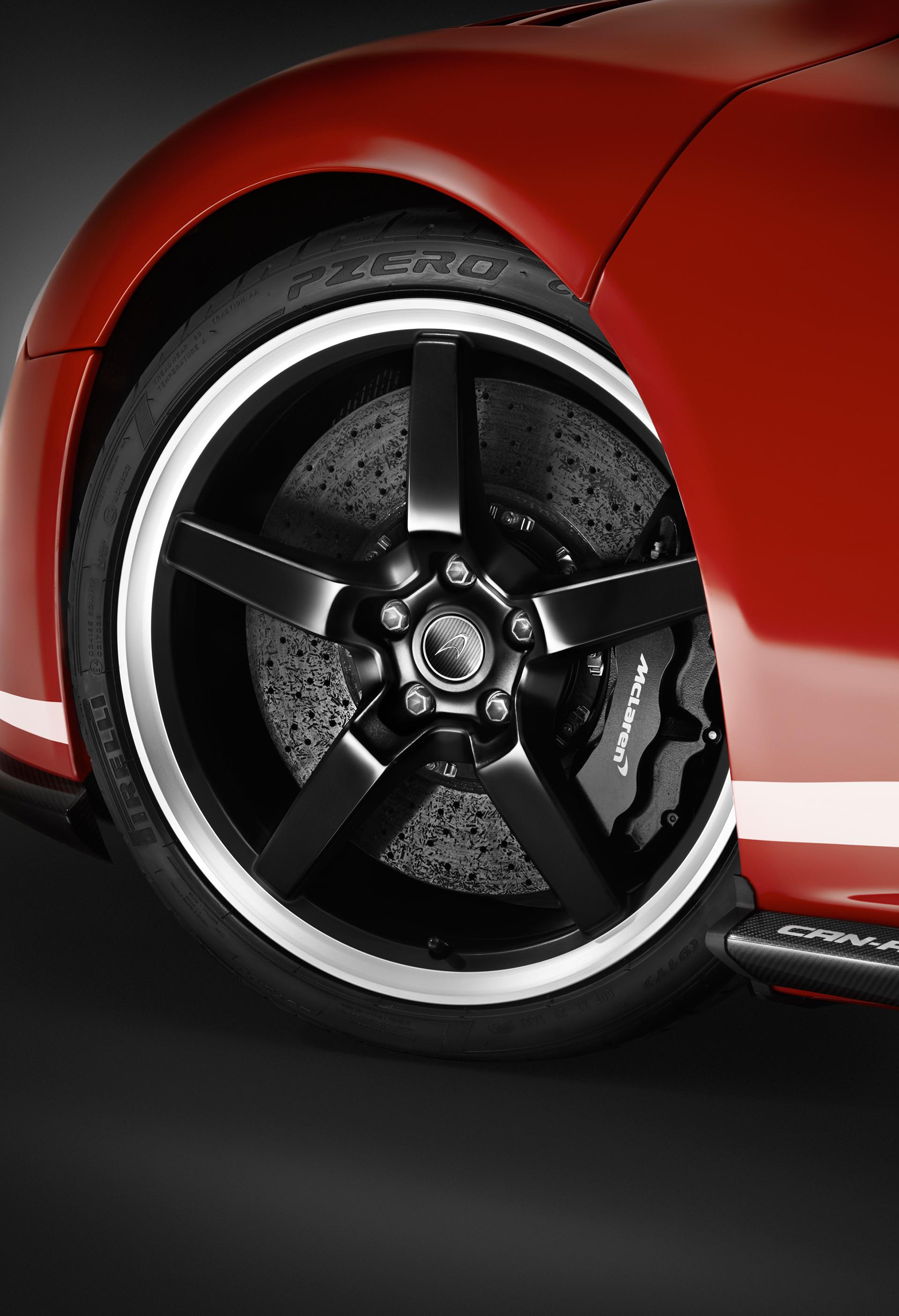 McLaren 650S MSO 50 years Can-Am - wheel / jante