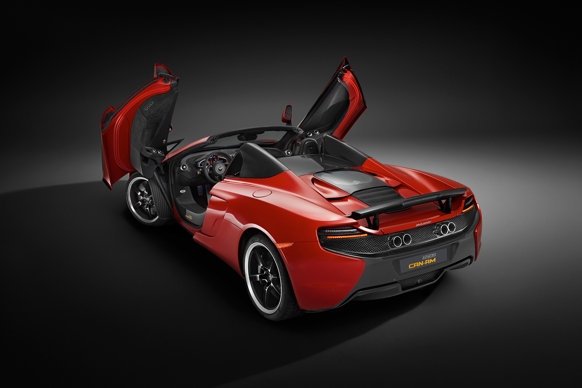 McLaren 650S MSO 50 years Can-Am - open doors / portes ouverte
